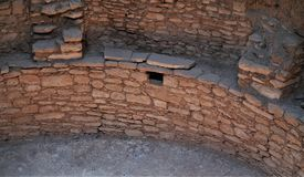Nationalpark för Mesa Verde Arkivfoto