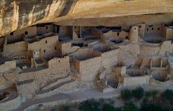 Nationalpark för Mesa Verde Arkivfoton