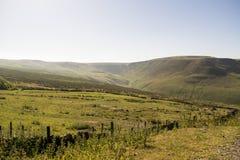 Nationalpark för område för Saddleworth hedmaximum Arkivbilder