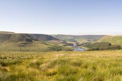 Nationalpark för område för Saddleworth hedmaximum Arkivfoton