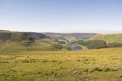 Nationalpark för område för Saddleworth hedmaximum Royaltyfri Fotografi