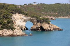 Nationalpark Gargano Stockfoto