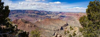 Nationalpark Grand Canyon s, Panorama stockfotos
