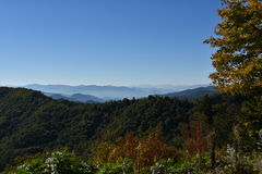 Nationalpark Great Smoky Mountains in Tennessee Stockbild