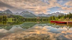 Nationalpark höga Tatra, Slovakien Arkivbilder