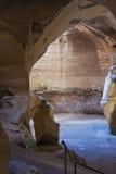 Nationalpark Höhlen-AR Bet Guvrin Stockfotografie