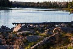 Nationalpark Harz zmierzch zdjęcie royalty free
