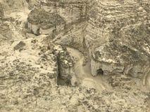 Nationalpark Hingol nahe Strand Kund Malir, Balochistan lizenzfreie stockbilder