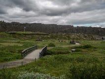 Nationalpark Island stockbilder