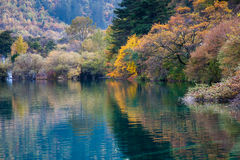 Nationalpark Jiuzhaigou Lizenzfreie Stockbilder