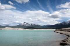 Nationalpark Kanada Bergabraham Seebanffs Lizenzfreie Stockfotografie