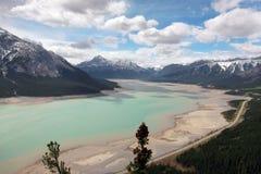Nationalpark Kanada Bergabraham Seebanffs Lizenzfreies Stockbild