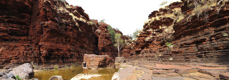 Nationalpark Karijini, West-Australien Stockfotos