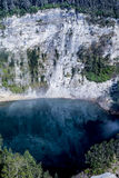 Nationalpark Kelimutu mit Tiwu Ata Bupu See Lizenzfreies Stockfoto