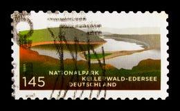 Nationalpark Kellerwald, Wälder und See, Nationalparks und Naturreservate serie, circa 2011 Lizenzfreie Stockfotografie