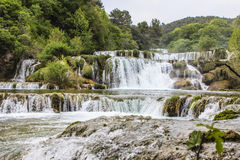Nationalpark Krka Stockfoto