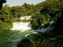 Nationalpark Krka, gelegen in Mittel-Dalmatien, nahe der Stadt von Å-ibenik Stockfotos