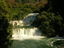 Nationalpark Krka, gelegen in Mittel-Dalmatien, nahe der Stadt von Å-ibenik Stockfotografie