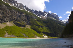 Nationalpark Lake- LouiseBanff Lizenzfreies Stockbild