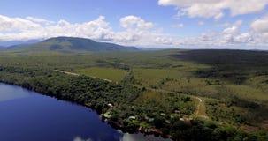 Nationalpark-Landschaft Canaima, Venezuela stock video footage