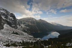 Nationalpark Marine Eye Tatra Lizenzfreie Stockfotografie