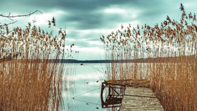 Nationalpark Mecklenburgische Seenplatte Stockfotos
