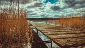 Nationalpark Mecklenburgische Seenplatte Stockbild