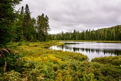 Nationalpark Mont-Tremblant, Kanada - Landschaft 2 Stockfoto