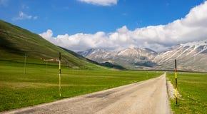 Nationalpark Monti Sibillini Stockfotos
