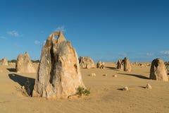 Nationalpark Nambung, West-Australien Lizenzfreies Stockbild