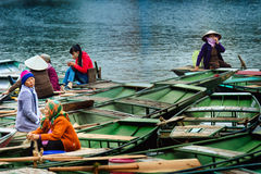 Nationalpark Ninh Binh vietnam 14-12-2013 Lizenzfreies Stockbild