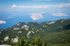 Nationalpark Nord-Velebit in Kroatien lizenzfreie stockfotos