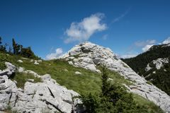 Nationalpark Nord-Velebit in Kroatien stockfoto