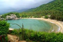 Nationalpark på tagangaen colombia Arkivbilder