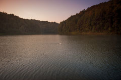 Nationalpark Pang Ungs von Mae Hong Son-Provinz Thailand stockfotos