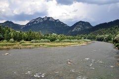 Nationalpark Pieniny, Slovakien, Europa Arkivfoto