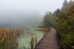 Nationalpark Plitvice Arkivfoto