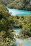 Nationalpark: Plitvice lakes royaltyfri fotografi
