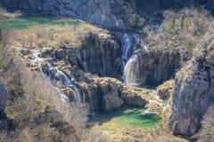 Nationalpark Plitvice, Meisterwerk von Natur 6 lizenzfreies stockbild