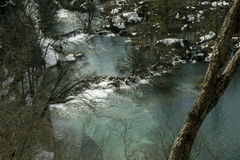 Nationalpark Plitvicka Jezera Stockfoto
