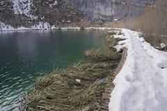 Nationalpark Plitvicka Jezera Stockbilder
