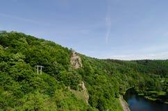 Nationalpark Podyji, Tschechische Republik Stockbild