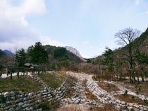 Nationalpark Seoraksan Stockbild