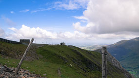 Nationalpark Snowdonia Stockbild