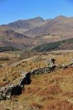 Nationalpark Snowdonia Stockfotos