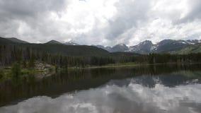 Nationalpark Sprague Lake Colorado Rocky Mountains Lizenzfreie Stockfotos