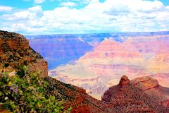 Nationalpark-Südkante Grand Canyon s Stockbilder