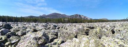 Nationalpark Taganay Тhe Stockfotos