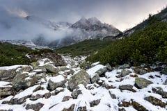 Nationalpark Tatra Stockfoto