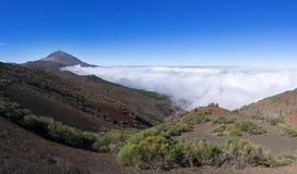 Nationalpark Teneriffa - Landschaft mit Teide Lizenzfreie Stockfotografie